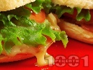 Рецепта Сандвичи с Чедър и филе Елена